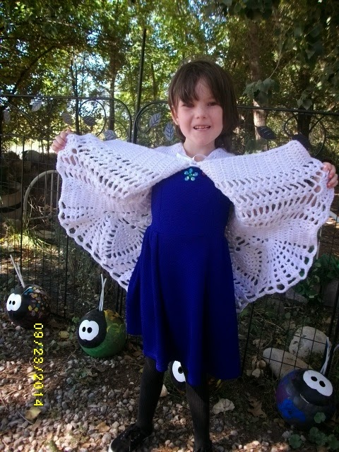 Copper Llama Studio Crochet Pineapple Flare Sweater