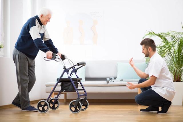 Lower back pain - the walker