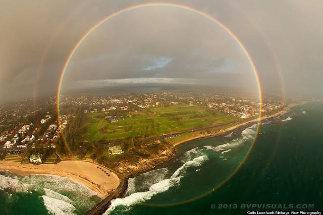 地球の美しさと出会える絶景?美しい虹の種類と画像14枚 円形虹
