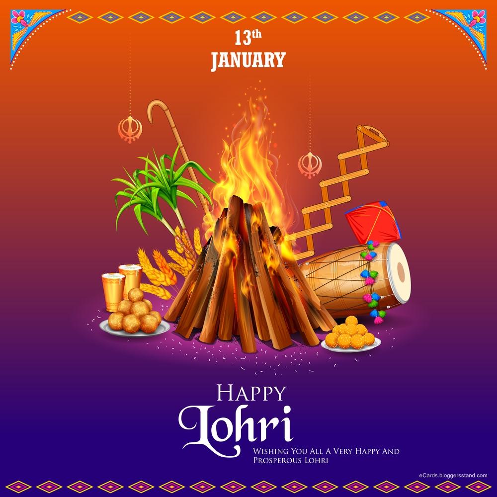 Top 10 best wishes happy lohri pictures download