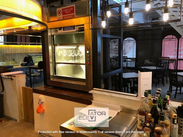spesifikasi lift makanan Samarinda