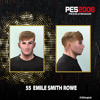 PES 6 Faces Emile Smith Rowe by El SergioJr