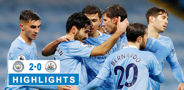 Manchester City vs Newcastle United – Highlights
