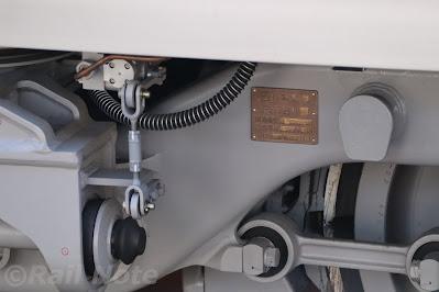東京メトロ17000系の台車銘板