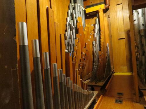 George Eastman organ pipes