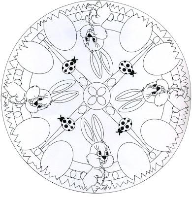 Mandala de conejos