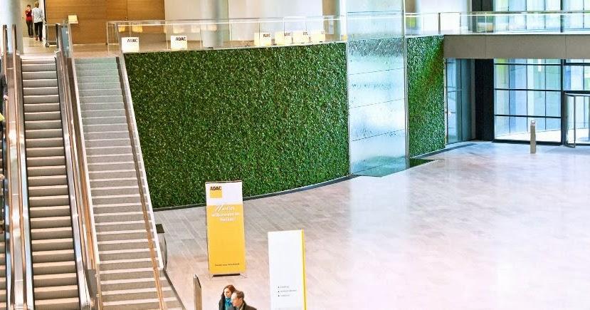 Küche Grüne Wand : gr ne wand und wasserwand bei der adac zentrale in m nchen art aqua gr ne wand ~ Eleganceandgraceweddings.com Haus und Dekorationen