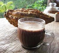 Apa calda cu cacao
