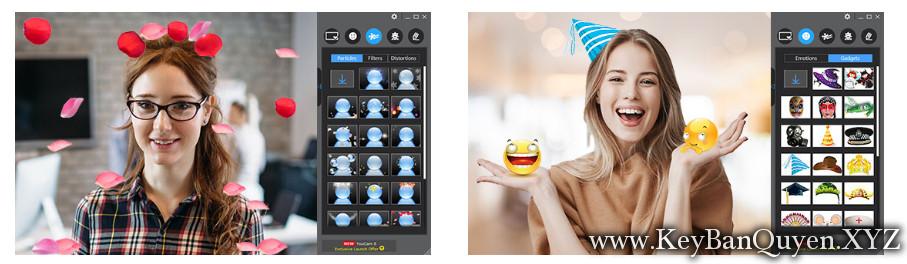 CyberLink YouCam Deluxe 8.0.0925.0 Full Key Download, Phần mềm hỗ trợ sống ảo với Webcam