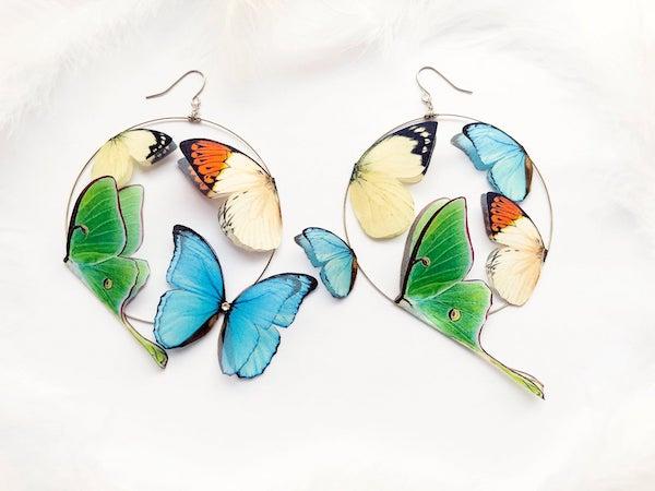 hoop%2Bearrings%2Bwith%2Bsilk%2Bbutterflies