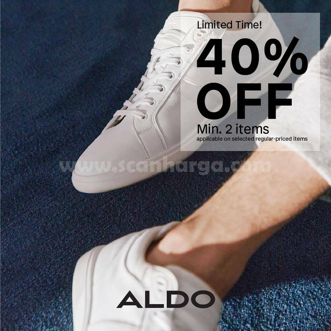 ALDO Shoes Promo Weekend Special Deals - Get 40% off for min. 2 items