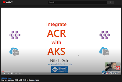 Integrate ACR with AKS using Admin User