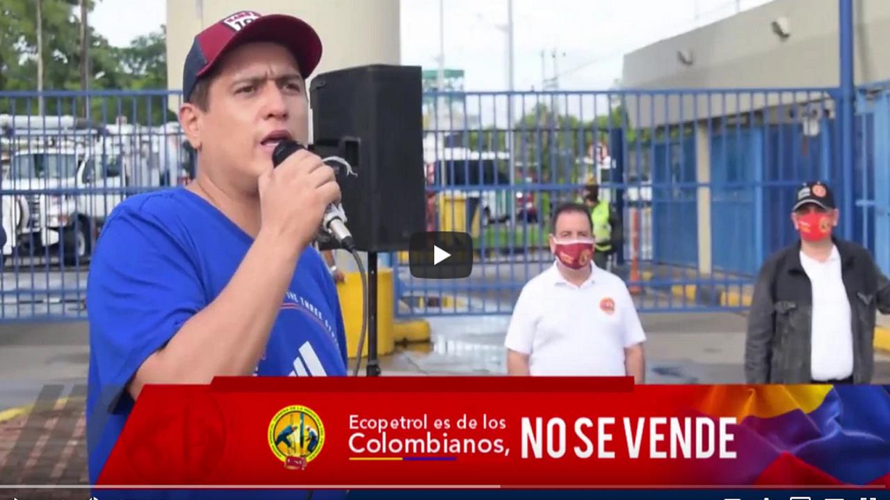 #EcopetrolNoSeVende la cuarentena no detiene nuestra lucha en Barrancabermeja
