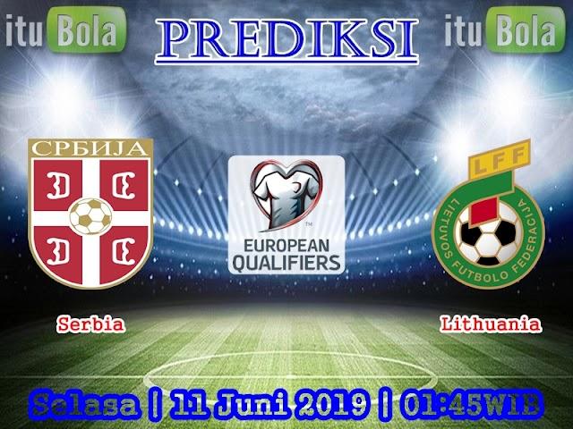 Prediksi Serbia vs Lithuania - ituBola