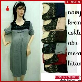 MOM149D17 Dress Hamil Menyusui Modis Middleton Dresshamil Ibu Hamil