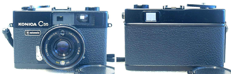 Konica C35 Automatic Rangefinder (Black) #850