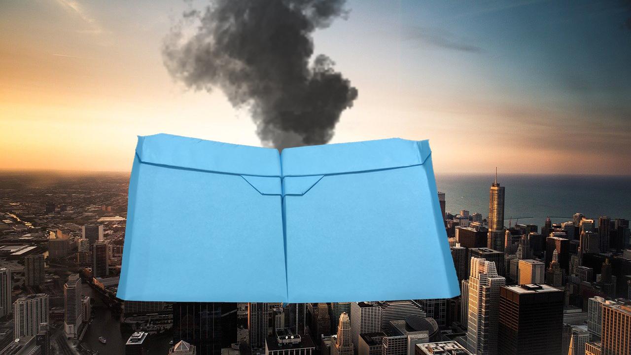 Comment faire un avion en papier qui vole longtemps et très bien - Meilleur planeur