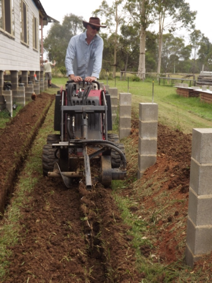 Trench Digging - Seven Little Australians & Counting