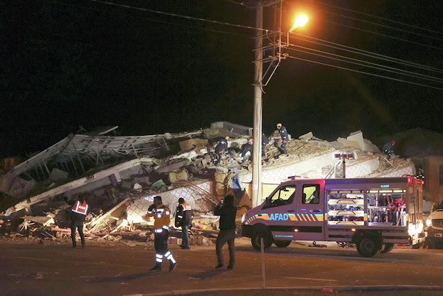 39 muertos por terremoto en Turquía