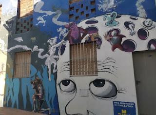 Museo Inacabado de Arte Urbano (MIAU) de Fanzara, provincia de Castellón.