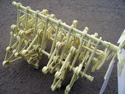 strandbeest - robô de vento