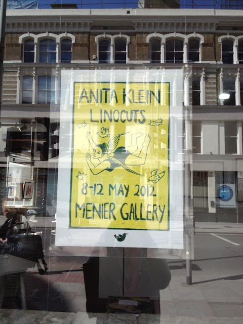 Anita Klein Linocuts Exhibition 2012