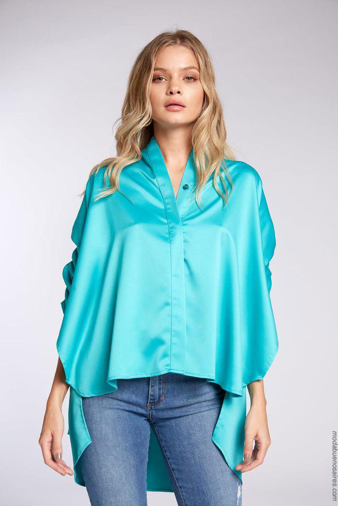 Blusas de moda 2020.