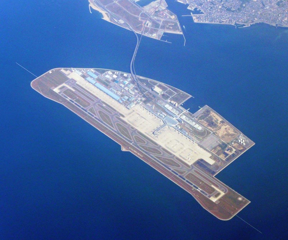 Aeroporto Nagoya : As maiores ilhas artificiais do mundo gigantes