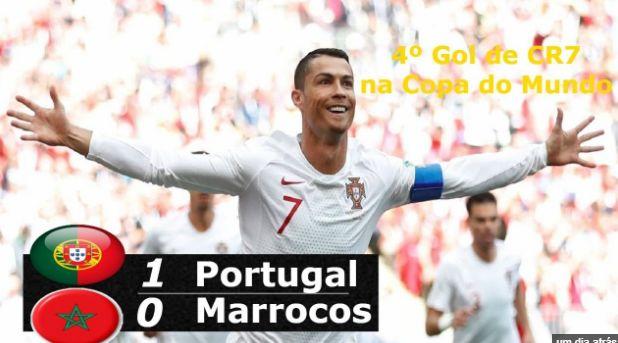 Melhores Momentos do Jogo Portugal e Marrocos Online