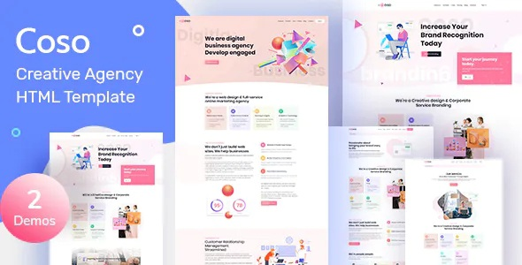 Best Creative Agency HTML Template
