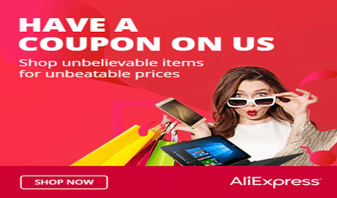 رموز خصم AliExpress حتى 100 دولار على صفقات مختاره