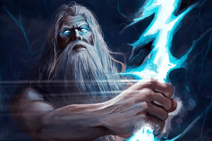 Conheça a história de Zeus, o deus do trovão mitologia grega