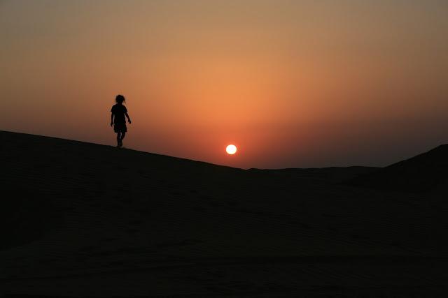 Oman deserto
