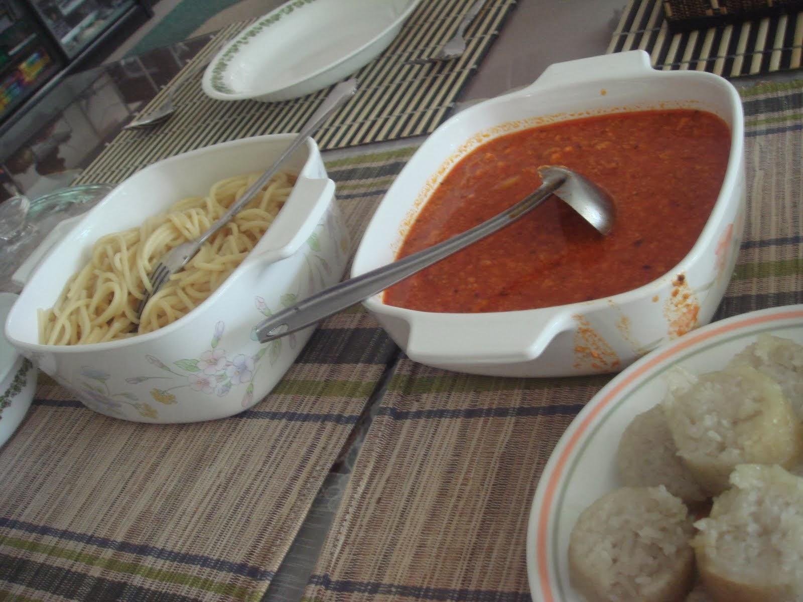 Resepi Orang Bujang Western Food Spaghetti Bolognese Selera Melayu