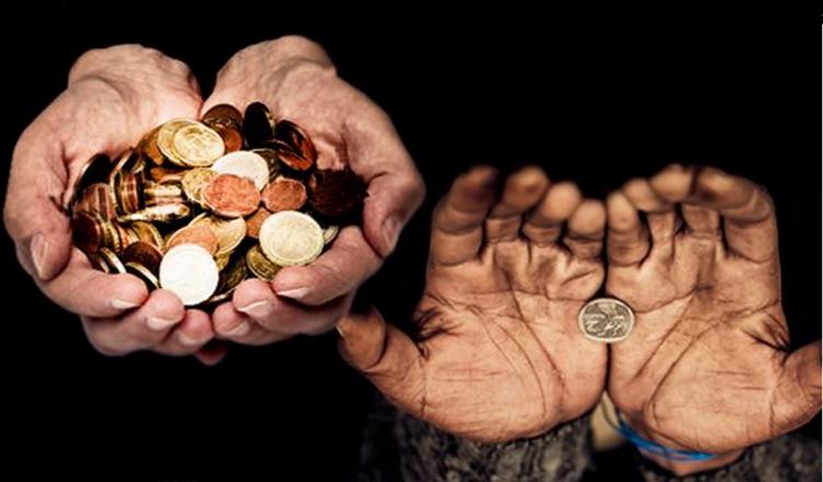 Riqueza e Pobreza no Mundo Financeiro