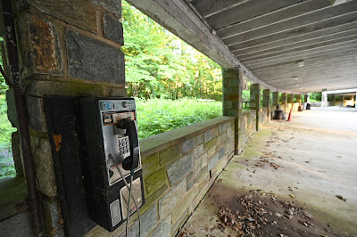 Carter Barron Amphitheater, Rock Creek Park, Washington DC - closed theaters