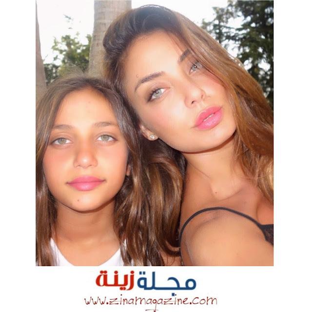 دجا حجازي وابنتها ومن هي الاجمل الام ام ابنتها ؟