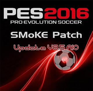 PES 2016 SMoKE Patch 8.5 AIO