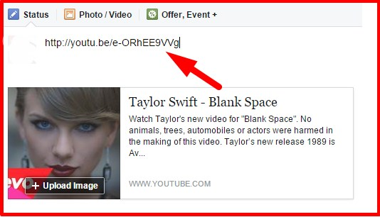 embed video on facebook timeline