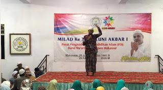 Dihadiri Haddad Alwi, P3I Darul Ma'arif Diponegoro Makassar Gelar Reuni Akbar