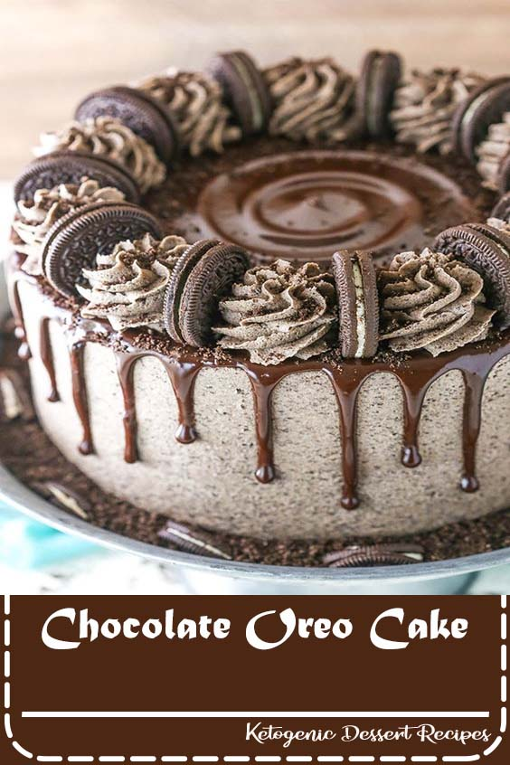 Chocolate Oreo Cake - Healthy Keto Dinner Recipes For Family