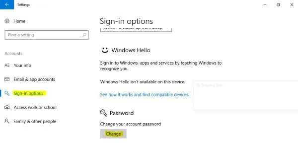 mengubah password windows 10 pada pc atau laptop