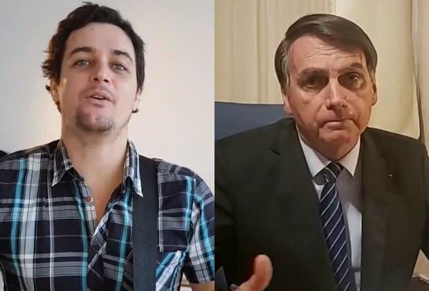 """Felipe Dylon elogia Governo e afirma que Bolsonaro tem """"pegada boa"""""""