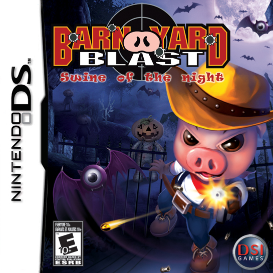 ROMs - Barnyard Blast - Swine of the Night (Português) - NDS Download