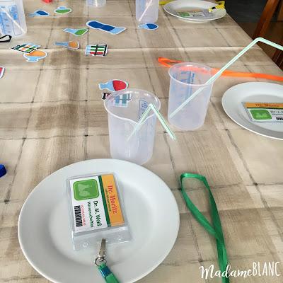 Kindergeburtstag Experimente Wissenschaftler