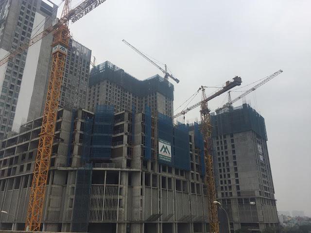 Tiến độ xây dựng luôn được đảm bảo tại Eco green city