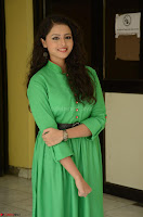 Geethanjali in Green Dress at Mixture Potlam Movie Pressmeet March 2017 083.JPG