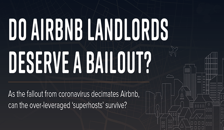 Do Airbnb Landlords Deserve a Bailout? #infographic