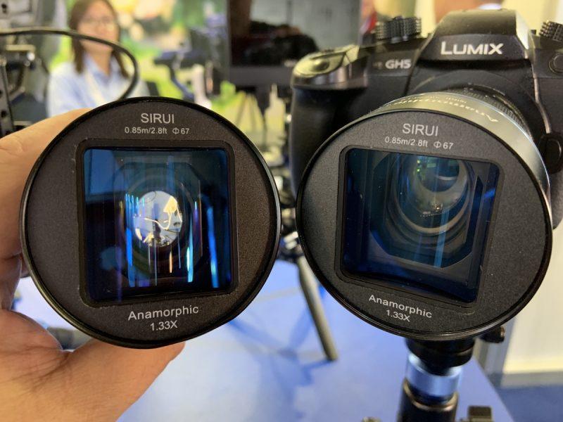 Два объектива Sirui 50mm f/1.8 1.33x Anamorphic