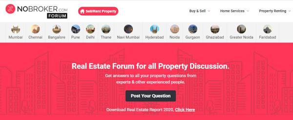 No Broker property Forum